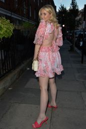 Amy Hart Night Out Style - London 09/08/2021