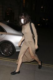 Ana de Armas at The Ivy in London 09/27/2021