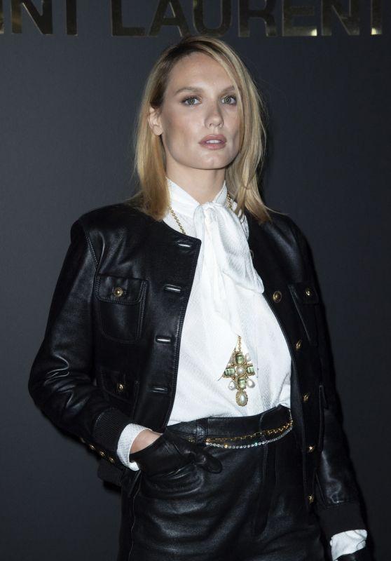 Ana Girardot - Saint Laurent Show at the Paris Fashion Week 09/28/2021