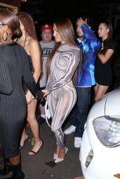 Anastasia Karanikolaou and Justine Skye - Kid Cudi's NYFW Party in New York 09/11/2021