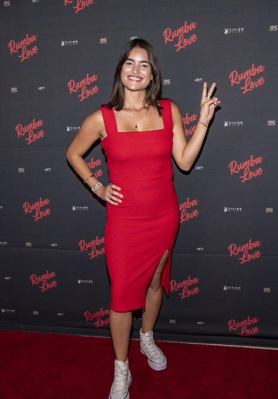 "Andrea Lacoste - ""Rumba Love"" Premiere at The Landmark Theater in LA 09/22/2021"