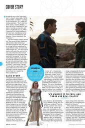 Angelina Jolie and Gemma Chan - Total Film October 2021 Issue