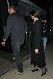 Angelina Jolie and The Weeknd at Giorgio Baldi Restaurant in Santa Monica 09/26/2021