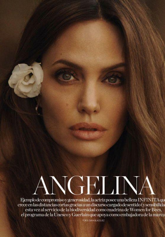 Angelina Jolie - ELLE Spain October 2021 Issue