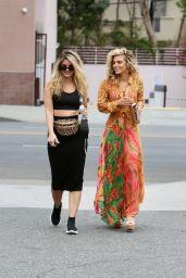 Annalynne McCord & Rachel McCord - Out in Beverly Hills 09/02/2021