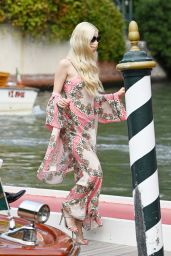 Anya Taylor-Joy – Arriving at the Hotel Excelsior in Venice 09/04/2021