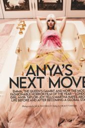 Anya Taylor-Joy – Tatler Magazine October 2021 Issue