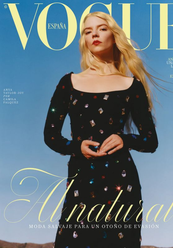 Anya Taylor-Joy - Vogue Magazine Spain October 2021 Cover