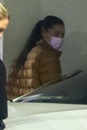 Ariana Grande - Leaves an Office in LA 09/18/2021