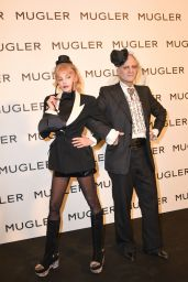 """Arielle Dombasle - """"Thierry Mugler: Couturissime"""" Exhibition Opening Ceremony in Paris 09/28/2021"""