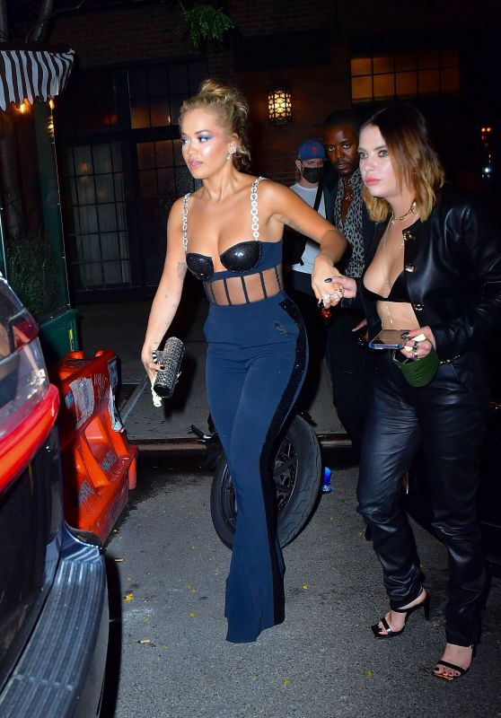 Ashley Benson and Rita Ora Night Out in NYC 09/20/2021