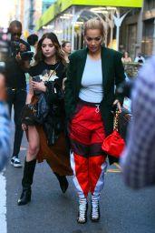 Ashley Benson and Rita Ora - Out in New York 09/11/2021
