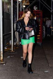 Ashley Benson Night Out Style - New York 09/17/2021