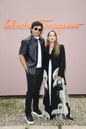 Ashley Benson – Salvatore Ferragamo Spring/Summer 2022 Show in Milan 09/25/2021