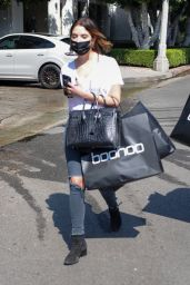 Ashley Benson - Shopping at Boohoo on Melrose Place in West Hollywod 09/02/2021