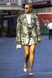 Ashley Roberts - Leaves Global Radio in London 09/24/2021