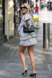 Ashley Roberts Street Style - London 09/22/2021
