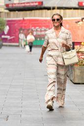 Ashley Roberts Street Style - London 09/23/2021