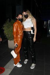 Avani Gregg and Madi Monroe - BOA Steakhouse in Los Angeles 09/01/2021