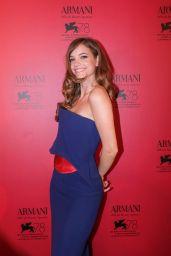 Barbara Palvin - Armani Dinner at the 78th Venice Film Festival 09/04/2021