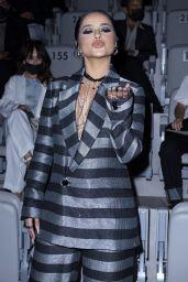 Becky G - EMPORIO ARMANI SS22 Show at Milan Fashion Week 09/23/2021