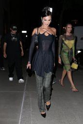 Bella Hadid at Spring Studios in NYC 09/08/2021