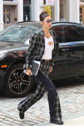 Bella Hadid Street Fashion - NYC 09/21/2021