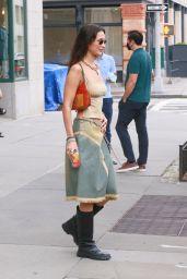 Bella Hadid Street Style - New York 09/01/2021