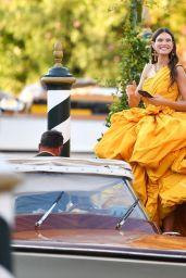 Bianca Balti - Arriving at the 78th Venice International Film Festival 09/01/2021