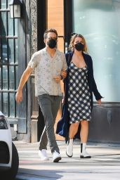 Blake Lively and Ryan Reynolds - Out in New York City 09/27/2021