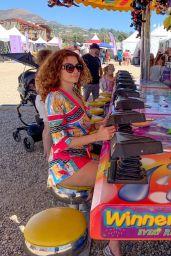 Blanca Blanco at the 39th Annual Malibu Chili Cook-Off Fair in Malibu 09/04/2021