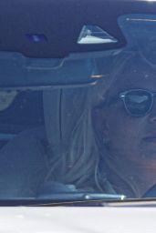 Britney Spears in White Mercedes in LA 09/17/2021