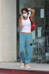 Brooke Burke Wearing Comfy Sweats- Malibu 08/30/2021