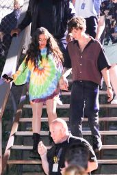 Camila Cabello and Shawn Mendes at the Global Citizens Concert in New York 09/25/2021