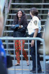 Camila Cabello in a Colorful Outfit at the Global Citizen Concert Event in NY 09/25/2021