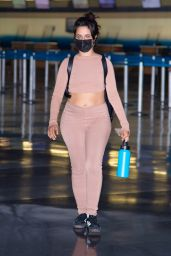 Camila Cabello in Travel Outfit - JFK Airport in NYC 09/05/2021