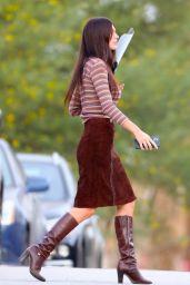 "Camila Morrone - ""Daisy Jones & The Six"" Set in LA 09/29/2021"