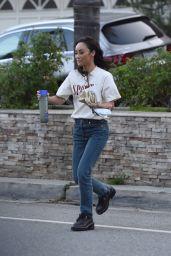 Cara Santana in Casual Outfit - Los Angeles 09/02/2021