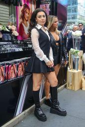 Charli XCX and Addison Rae - Pandora Me Promo in New York City 09/29/2021