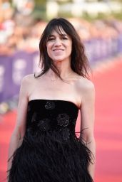 Charlotte Gainsbourg - 47th Deauville American Film Festival Opening Ceremony Red Carpet