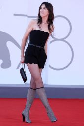 "Charlotte Gainsbourg - ""Sundown"" Premiere at the 78th Venice International Film Festival"
