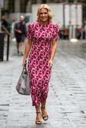 Charlotte Hawkins - Out in London 09/10/2021