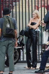 Charlotte McKinney and Nathan Kostechko - Out in Los Angeles 09/20/2021