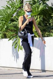 Charlotte Mckinney at Cha Cha Matcha in West Hollywood 09/20/2021
