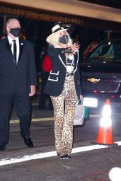 Cher – Leaving the Academy Museum of Motion Pictures Opening Gala in LA 09/25/2021