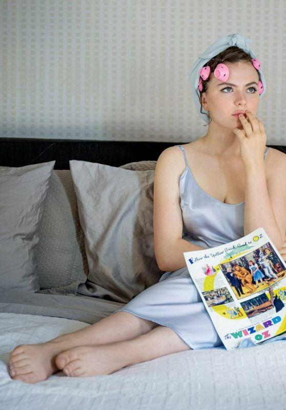 Chiara Aurelia - W magazine TV portfolio August 2021