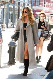 Chrissy Teigen - Shopping in SoHo in NYC 09/27/2021