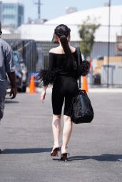 Christine Chiu at DWTS Rehearsal Studio in Los Angeles 09/07/2021