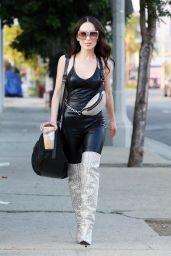 Christine Chiu at the Dance Studio in Los Angeles 09/08/2021