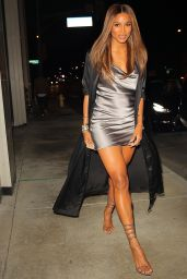 Ciara Night Out Style - Catch LA in West Hollywood 09/29/2021